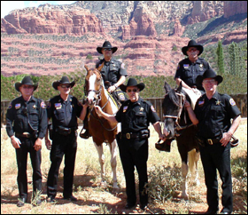 Mounted Unit Verde Valley Arizona Rangers